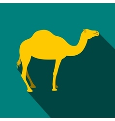 Camel icon flat style vector image vector image