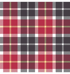 Red and gray check flanel plaid seamless vector