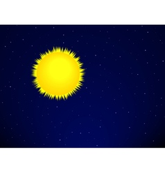 Sun on the space vector