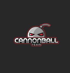 Professional esports emblem team mascot logo vector