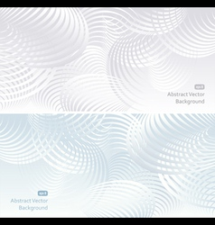 Two light Abstract background vector image