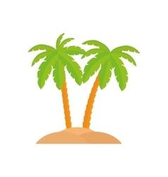 Beach summer vacations vector