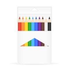 Box of pencils vector