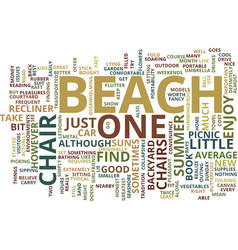 Beach florida inclusive resort text background vector