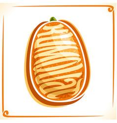 Logo for kumquat vector