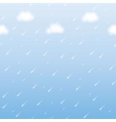 rainfall vector image vector image