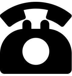 Rotary phone vector