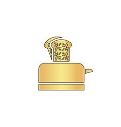 Toaster computer symbol vector