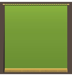 Green wall hanging vector