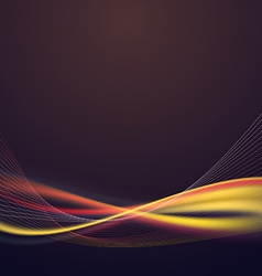 Bright speed lighting lines abstract background vector image vector image