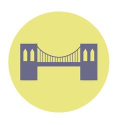 Brooklyn bridge vector