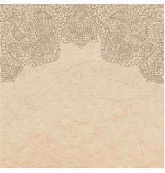 vintage old paper texture with traditional vector image