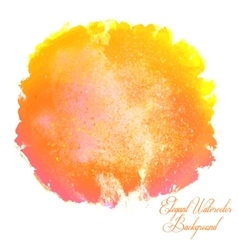 Watercolor isolated background vector