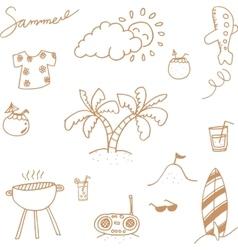 Holiday happy doodle vector
