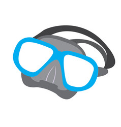 Isolated snorkel icon vector