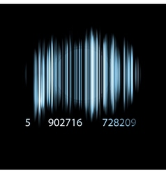The barcode vector image