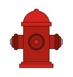 water hydrant icon image vector image