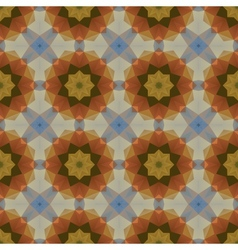 Kaleidoscope abstract colorful vintage pattern vector
