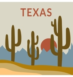 Texas t-shirt design vector