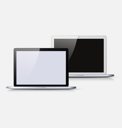 Black and white notebook vector