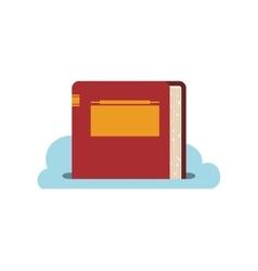 ebook online reading internet icon graphic vector image
