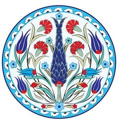 Oriental ottoman design seven version vector