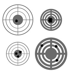 Set of different using targets vector