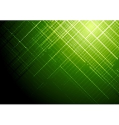Dark green shiny tech brochure background vector