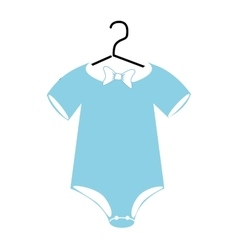 Baby clothes and wear theme design vector