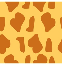 Giraffe fur texture background vector