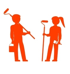 House Painters vector image vector image