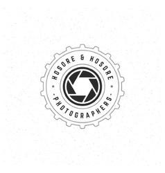 Photographer Design Element vector image vector image