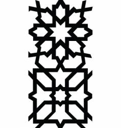 Border tile pattern vector