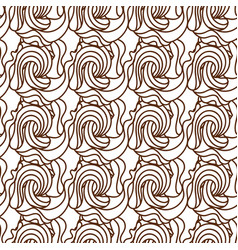 black and white wave patterns adult vector image vector image