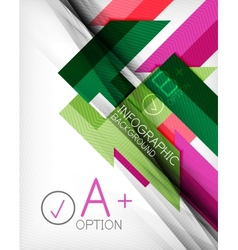 Business presentation stripes abstract background vector image vector image