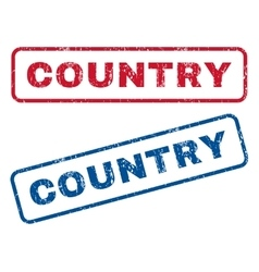 Country rubber stamps vector