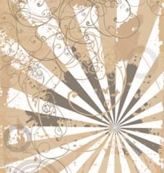 Organic background vector