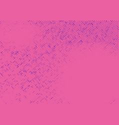 pink abstract halftone pattern old style vector image