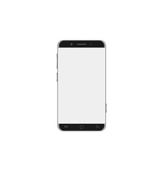 Smartphone with big screen vector