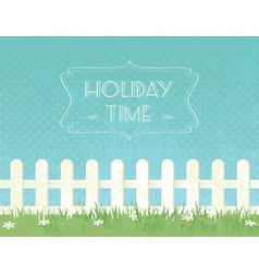 Summer g fence vector