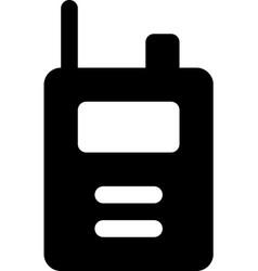 Walkie-talkie vector