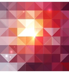 Abstract geometry triangles shining pattern vector
