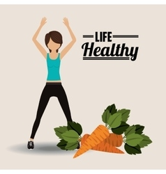 Life health design vector