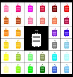 Baggage sign felt-pen 33 vector