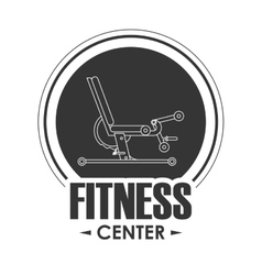 Machine icon fitness design graphic vector