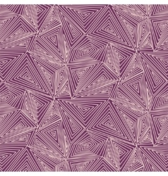 Artistically contemporary pattern hand vector