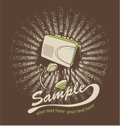 Music t-shirt design vector