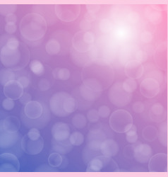 Bokeh texture on a bright purple background vector