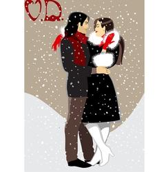 couple999 vector image