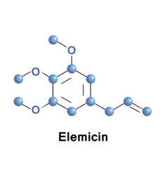 Elemicin is a phenylpropene vector